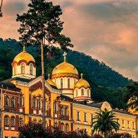 Ново-Афонский Симоно-Кананитский мужской монастырь Абхазия :: Константин Ольховка