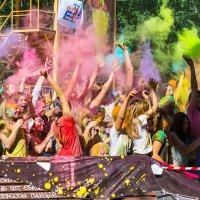 фестиваль красок The Color Party :: Petrovich