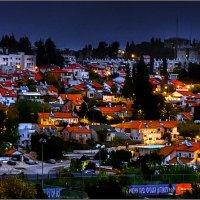 Старый Бейт Шемеш вечером :: Arkady Shnayder