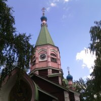 Храм Живоначальной Троицы в Наташине :: Ольга Кривых
