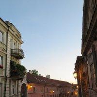 Вечерние улицы Вильнюса :: Оксана Кошелева