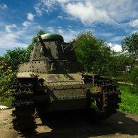 танк МС-1 (Т-18). :: Павел Бескороваев