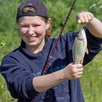 Вот оно, рыбацкое счастье! :: Дмитрий Сиялов