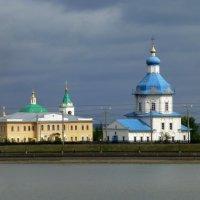 Свято-Троицкий мужской монастырь и Успенская церковь :: Наиля