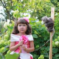 """Я и моя кукла"", по мотивам сказки ""Спящая красавица"" :: Diana Балобанова"