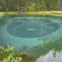 Гейзеровое озеро :: val-isaew2010 Валерий Исаев
