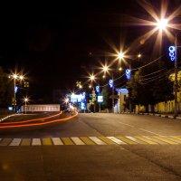 Прогулка по ночному городу. Павловский Посад. :: Наталья Верхотурова