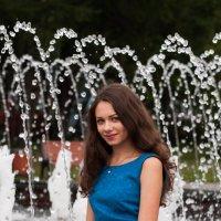У фонтана :: Sergey