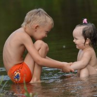 Старший брат двойняшек :: Ирина Артемова