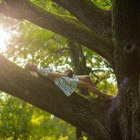 Девушка на дереве :: Юлия