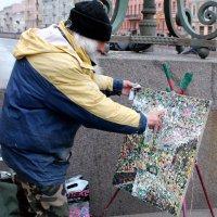 свободный художник. Санкт-Петербург :: elena manas