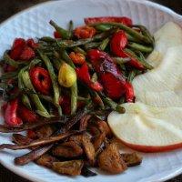 Спаржевая фасоль, перец и белый гриб. Часть вторая, заключительная. :: Ирина Сивовол