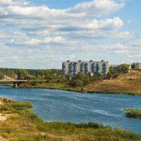 Байновский мост (панорама из пяти кадров) :: Дмитрий Костоусов