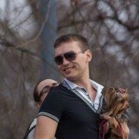 Любовь Это- доверить не только себя но и сабачку :: Михаил Даниловцев