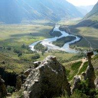 Вид с Ак-Корум на долину Чулышман. :: Любовь Иванова