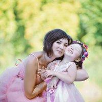 Фотосессия мамы и дочки :: марина алексеева