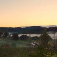 ..утро туманное,утро седое.... :: Ольга Cоломатина