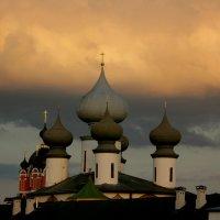 купола на закате :: Сергей Кочнев
