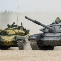 Танковый Биатлон :: Олег Савин