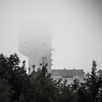 Шахта 6/7 в тумане :: Олег Никитин