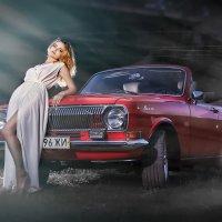 Красный кабриолет :: Александр Кобелюк