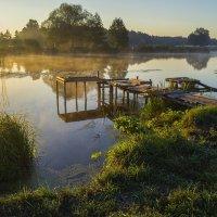 Светлое утро с туманом :: Сергей Корнев