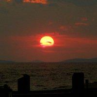 Закат на острове Эгина :: Оля Богданович