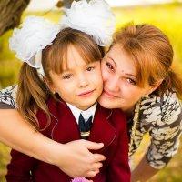 Мои девочки!!! Моя первоклашка!!!! :: Людмила Бадина