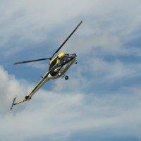 Пилотаж на Ми-2, показательное выступление. :: Олег Чернов