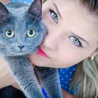 Эти глазки, эти голубые глазки ... :: Юлия