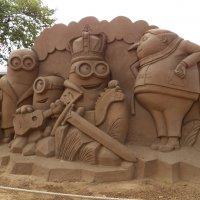 Выставка песчаных скульптур в Петропавловской крепости С-петербурга :: Виктор Елисеев
