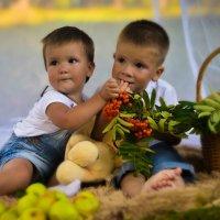 Брат с сестрой :: Анна Удальцова