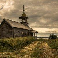 Никольская часовня в деревне д.Кондобережской :: Алексей Калугин