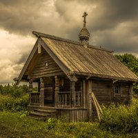 Часовня Сошествия Святого Духа в деревне Типиницы :: Алексей Калугин