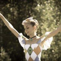 Дочь Гедеминаса Таранды на празднике в Захарово :: Ирина Гринченко