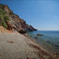 Яшмовый пляж :: Олег Фролов