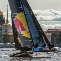 Red Bull Sailing Team в Санкт-Петербурге :: Игорь Маснык