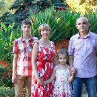 Семья – это счастье, любовь и удача! :: Райская птица Бородина