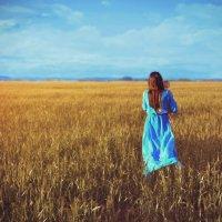 В поле :: Елена Ельцова
