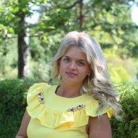 Солнечная девушка :: Yana Odintsova