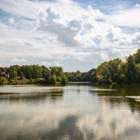 Река Цна.Сентябрь. :: Александр Селезнев