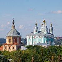 Успенский собор и Георгиевская церковь (Церковь Георгия Победоносца). :: Ирина Нафаня