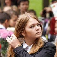 Старшеклаcсница (школьная линейка) :: Алексей Корнеев