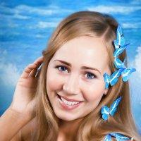 "в рамках проекта ""Бабочки"" Женя :: Галина Данильчева"