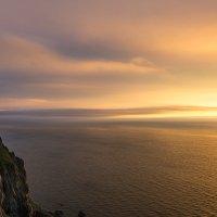 Восход. Японское море. :: Поток