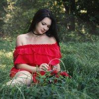 Красное платишко :: Kristi Caty