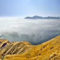 в туманном море плавал Карадаг :: viton