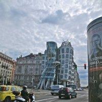"""""""Танцующий дом"""" в Праге :: Елена"""