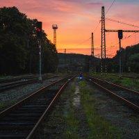 Дорога на закат... :: Елизавета Вавилова