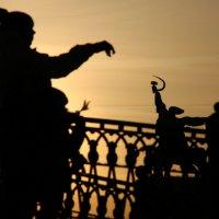 ритмы города-игра теней :: Олег Лукьянов